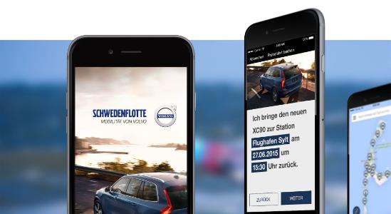 Referenzfoto für die Volvo Schwedenflotte