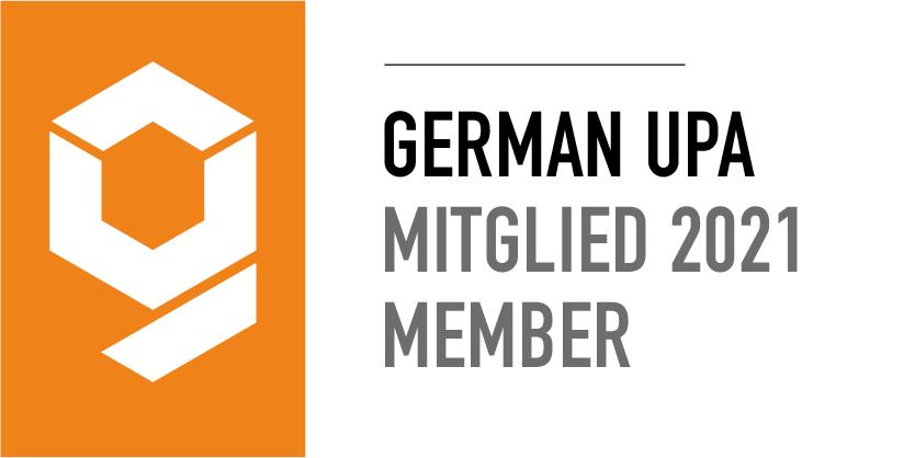 Logo des German UPA